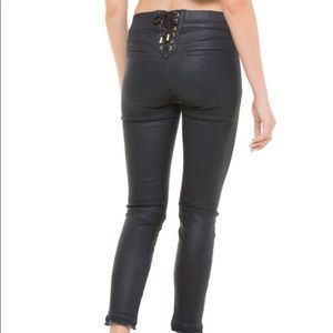 Juicy Couture Coated Denim Jegging